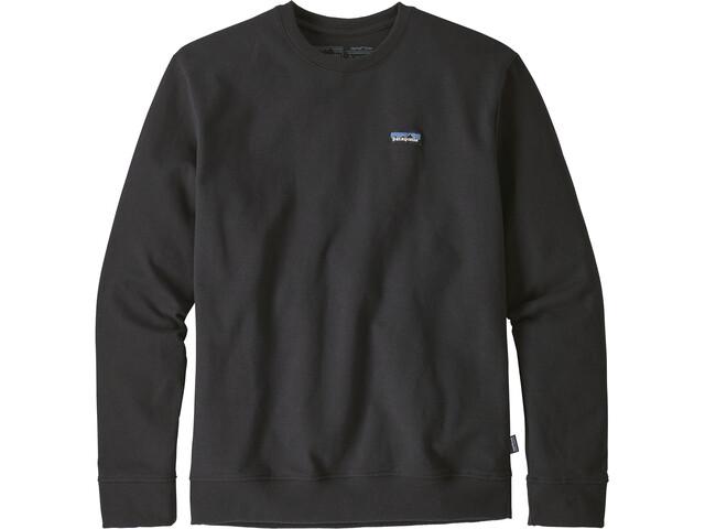 Patagonia P-6 Label Uprisal Sweat-shirt manches longues à col ras-du-cou Homme, black